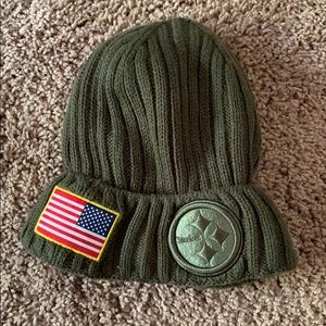 NFL Salute to Service Steelers Hat